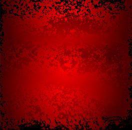 Grunge rojo