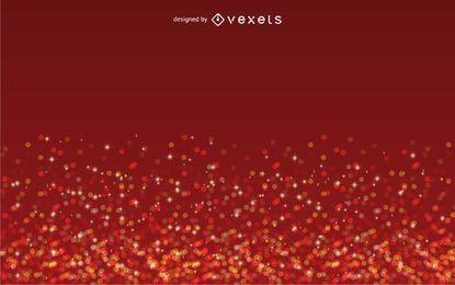 Sterne auf roter Hintergrundtapete
