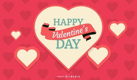 Diseño del día de San Valentín