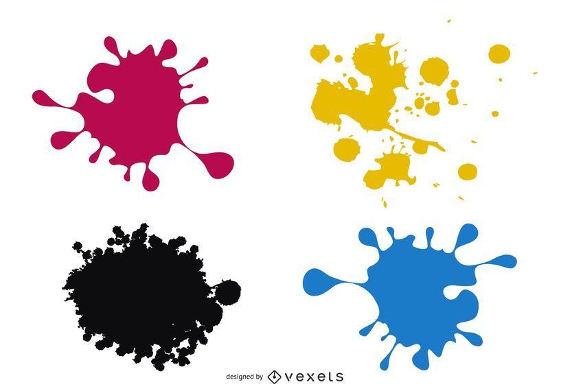 Salpicaduras de colores