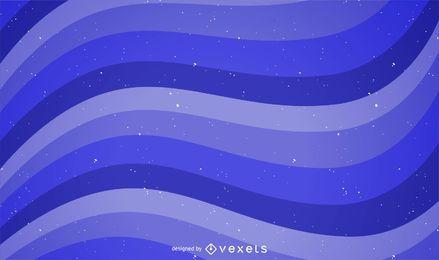 Resumen ondulado azul