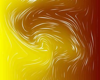 Funky Abstract Swirl Background