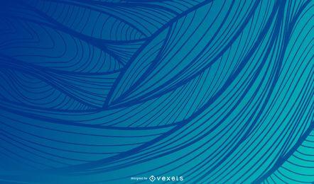 Wellenförmiger Hintergrund