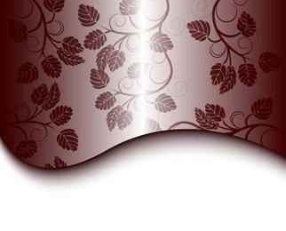 Diseño floral gris