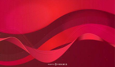 Textura abstracta roja