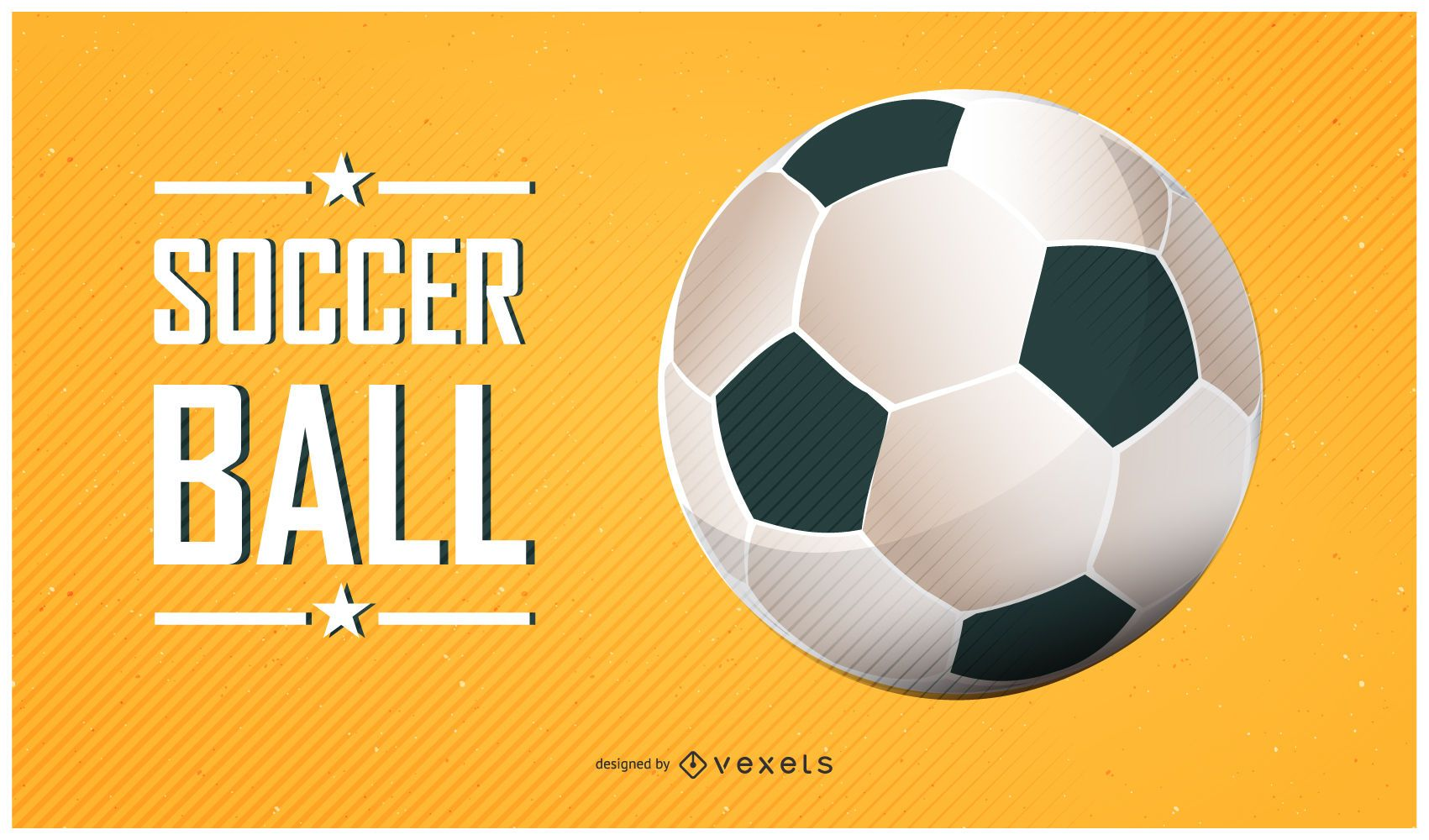 Soccer Ball Poster