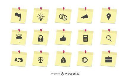 Conjunto de ícones