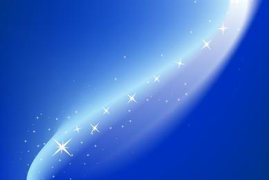Magischer blauer Hintergrund