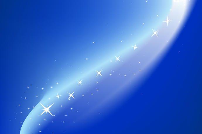 Magic blue background