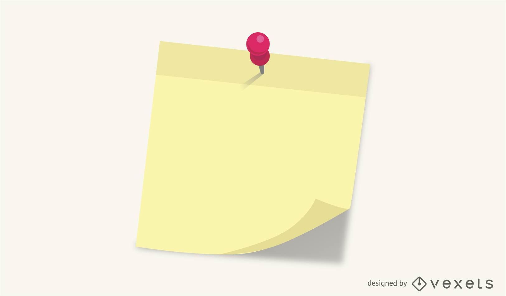 Note paper post it