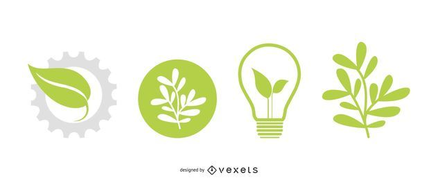 Vektor-Eco-Icons