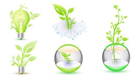Vector Eco Icons