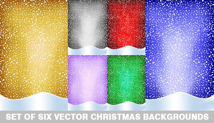 Christmas background collection