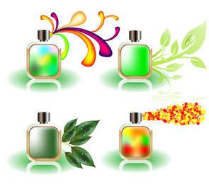 Vector Perfume Bottles