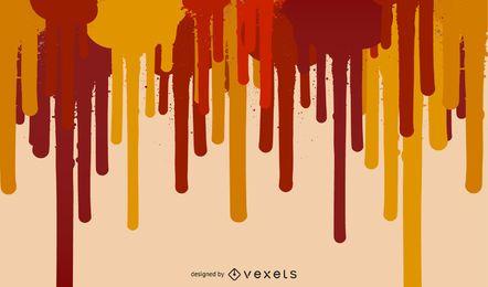 Fundo abstrato vermelho listrado pintura