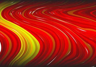 Abstract red striped paint background