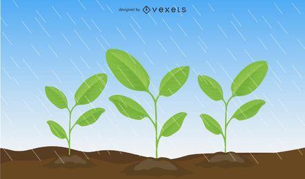 Vektor-Blätter