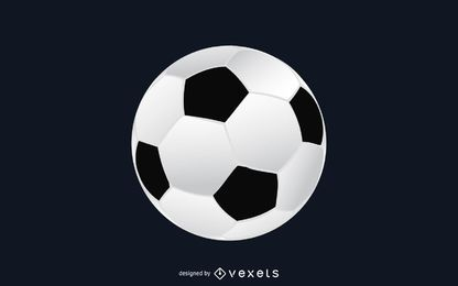 Fußball Ball Abbildung