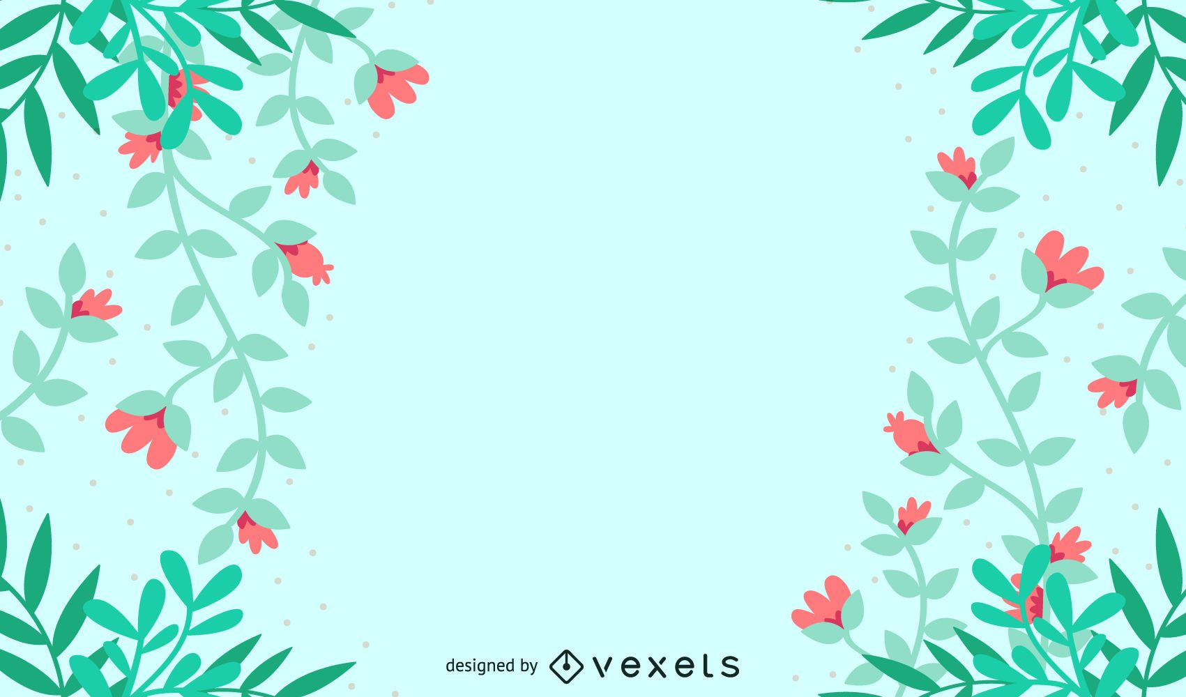 Background with Petals