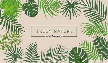 Grünes Laub
