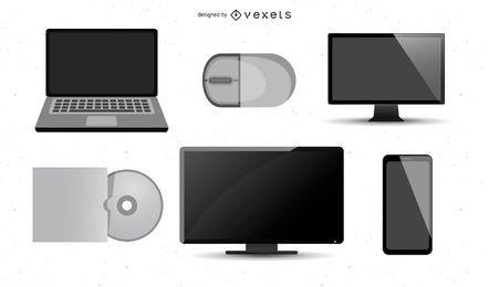 Gadgets vectoriales