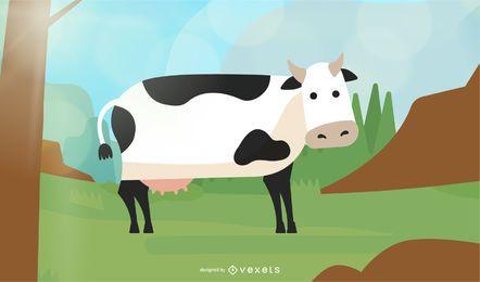 Vaca leitosa