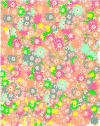 Spring floral background