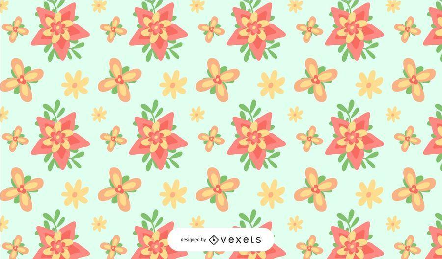 Little Flowers Background