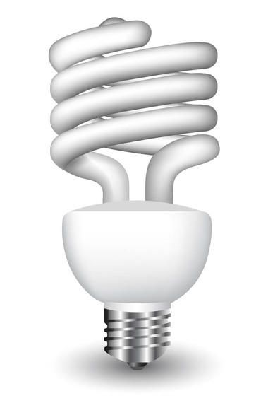Eco Light Bulb Vector Download