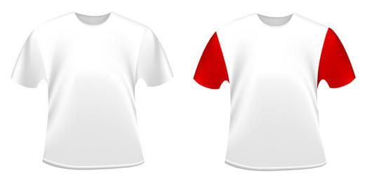 T-shirts brancos
