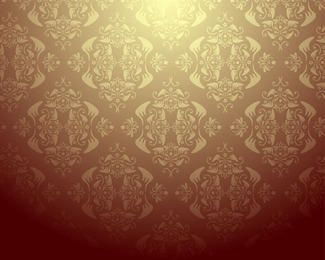 Damast-Tapeten-Design