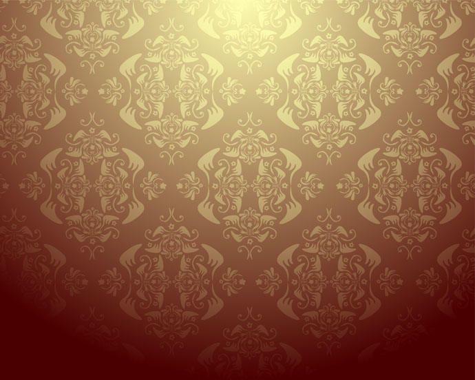 Damask Wallpaper Design