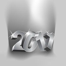 Neujahrszahlen 2011