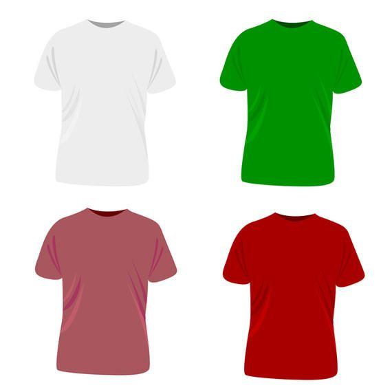 Vector t-shirt template - Vector download