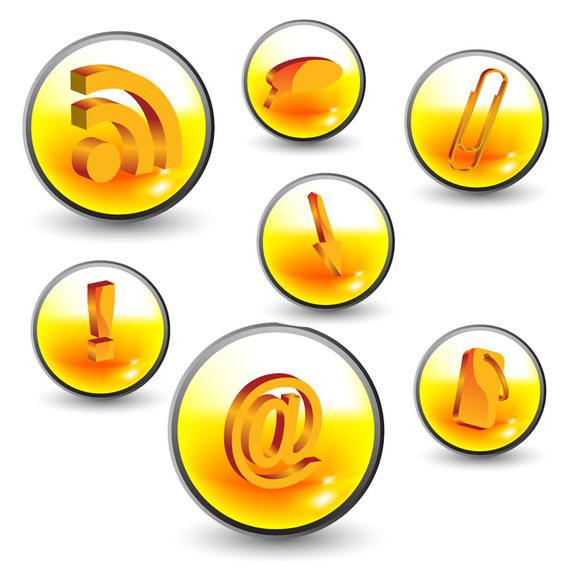 Cool web 20 icons vector download cool web 20 icons sciox Choice Image