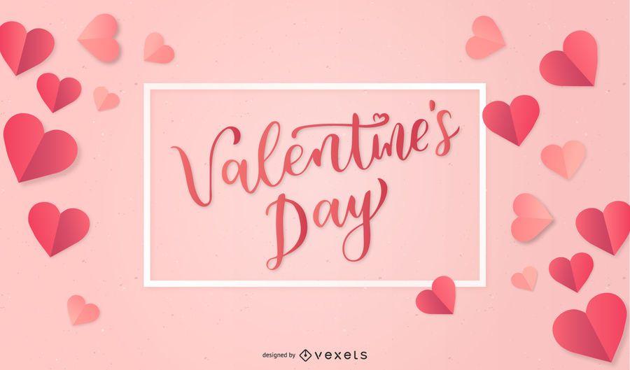 Día de San Valentín vector corazones