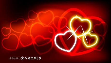 Fondo abstracto de San Valentín