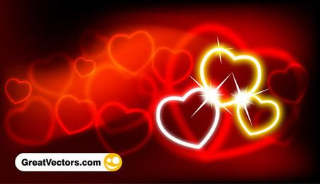 Abstract valentine's day background