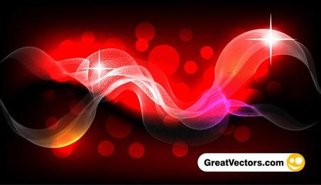 Abstract vector smoke effect