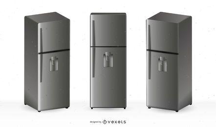 Vektorkühlschränke geben Illustration frei