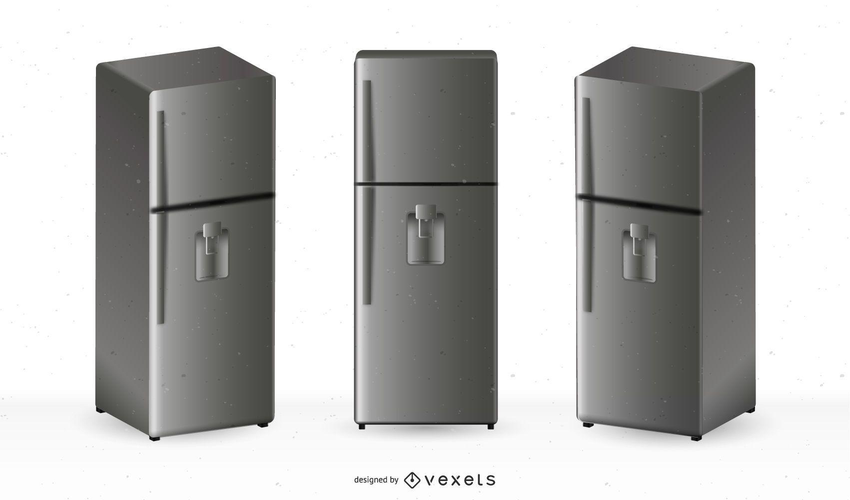 Ilustração gratuita de geladeiras vetoriais