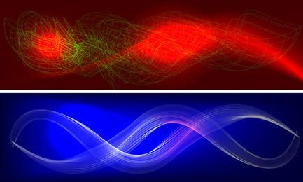Colorful wavy backgrounds