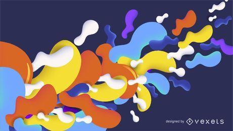Flow Background