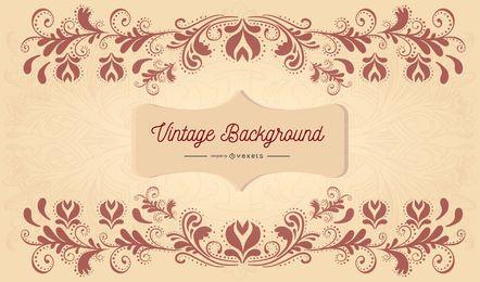 Fundo vector vintage