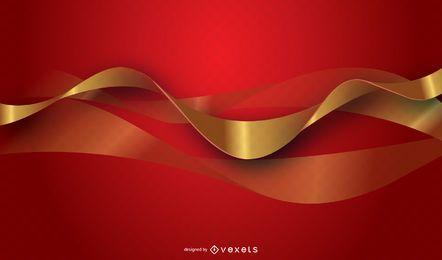 Fondo rojo vector