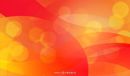 Fundo de fogo colorido abstrato
