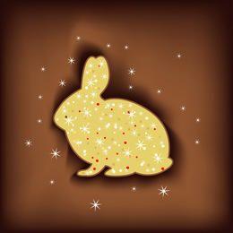 Conejo de pascua magico