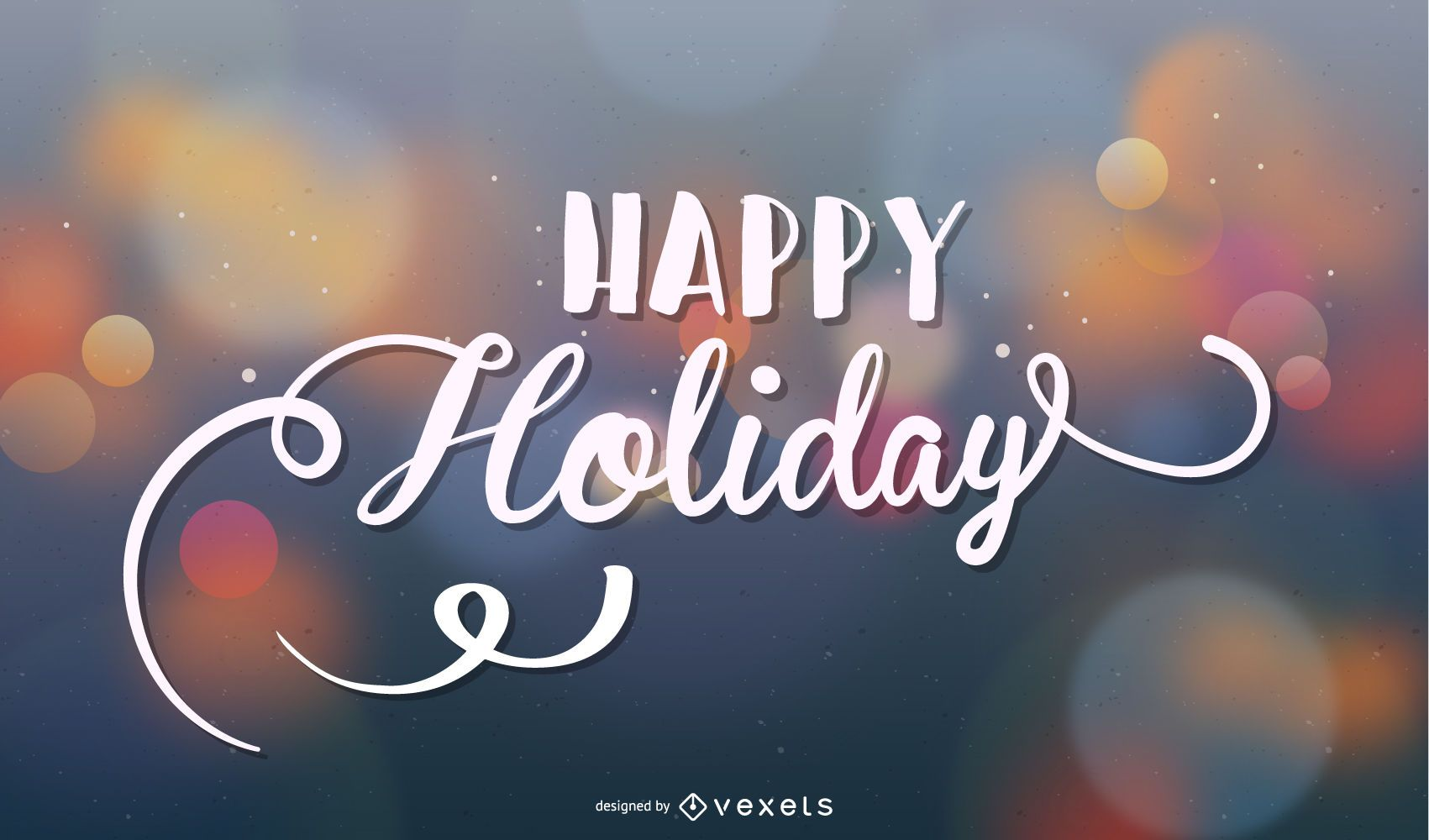 Holiday Greeting Card or Background