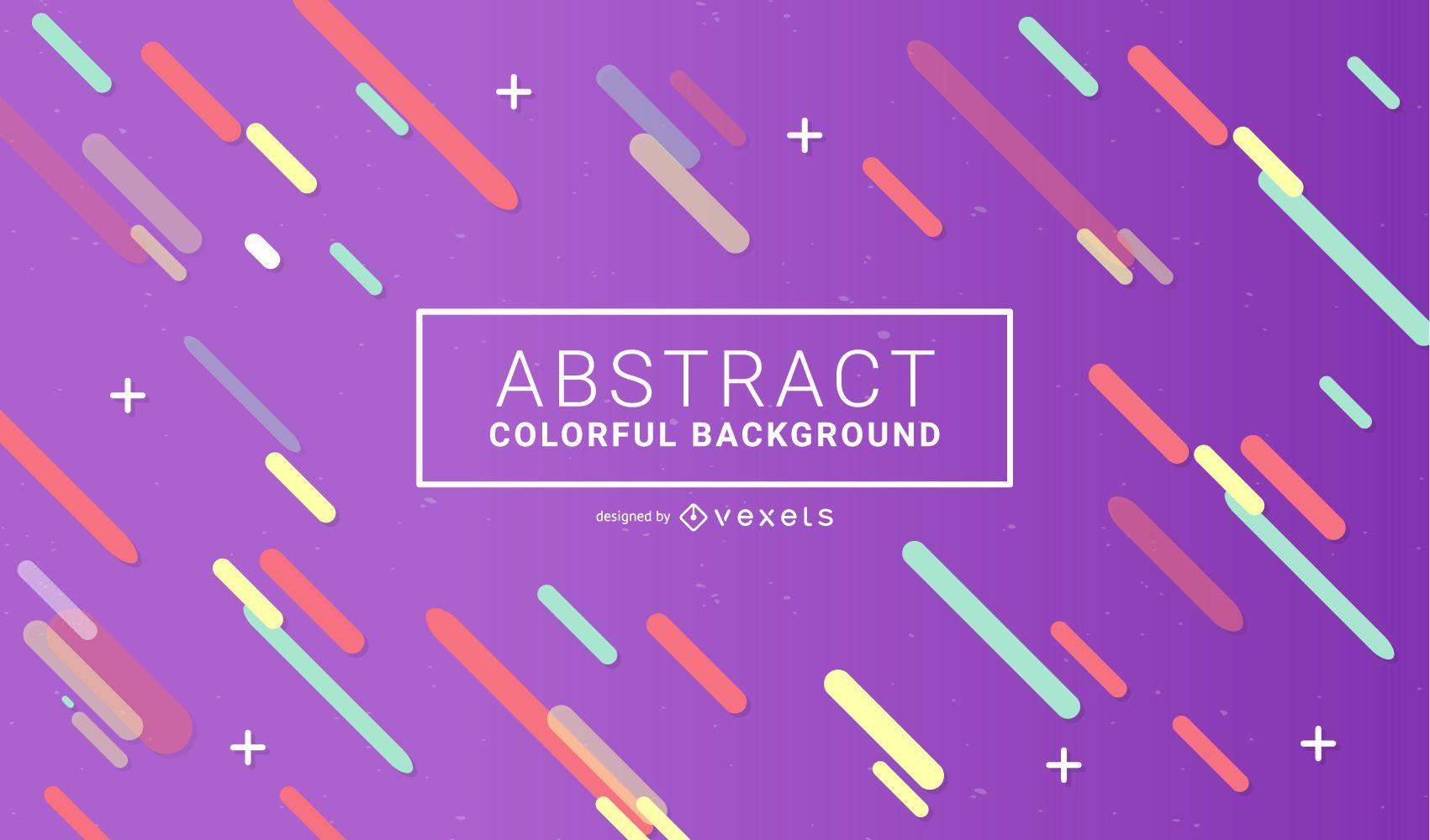 Fundo colorido minimalista