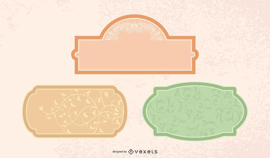 Vintage Labels or Frames